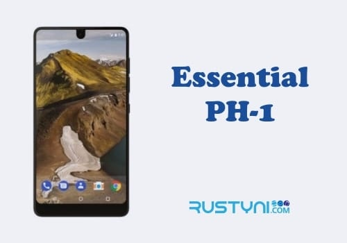 How to Force Restart a Frozen / Unresponsive Essential Phone PH-1