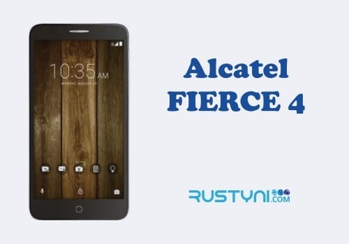 MetroPCS Alcatel Fierce 4 User Manual / User Guide