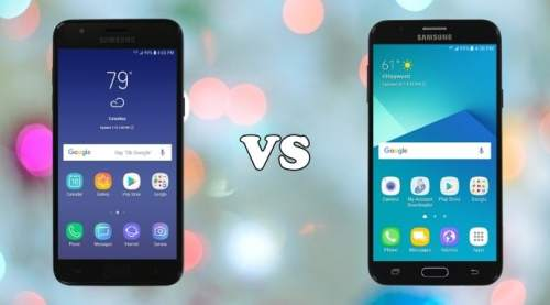 samsung galaxy j3 orbit vs j7 sky pro specs comparison
