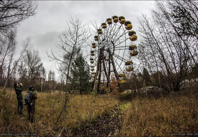 An illegal visit to Chernobyl