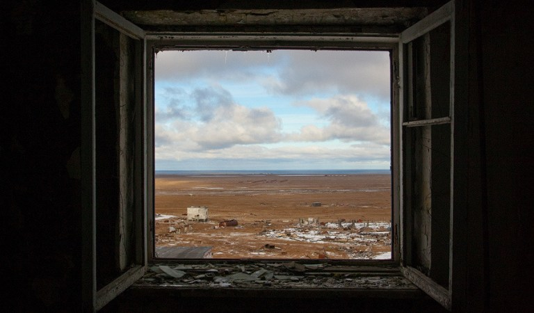 Tiksi-3: a military town above the Arctic Circle