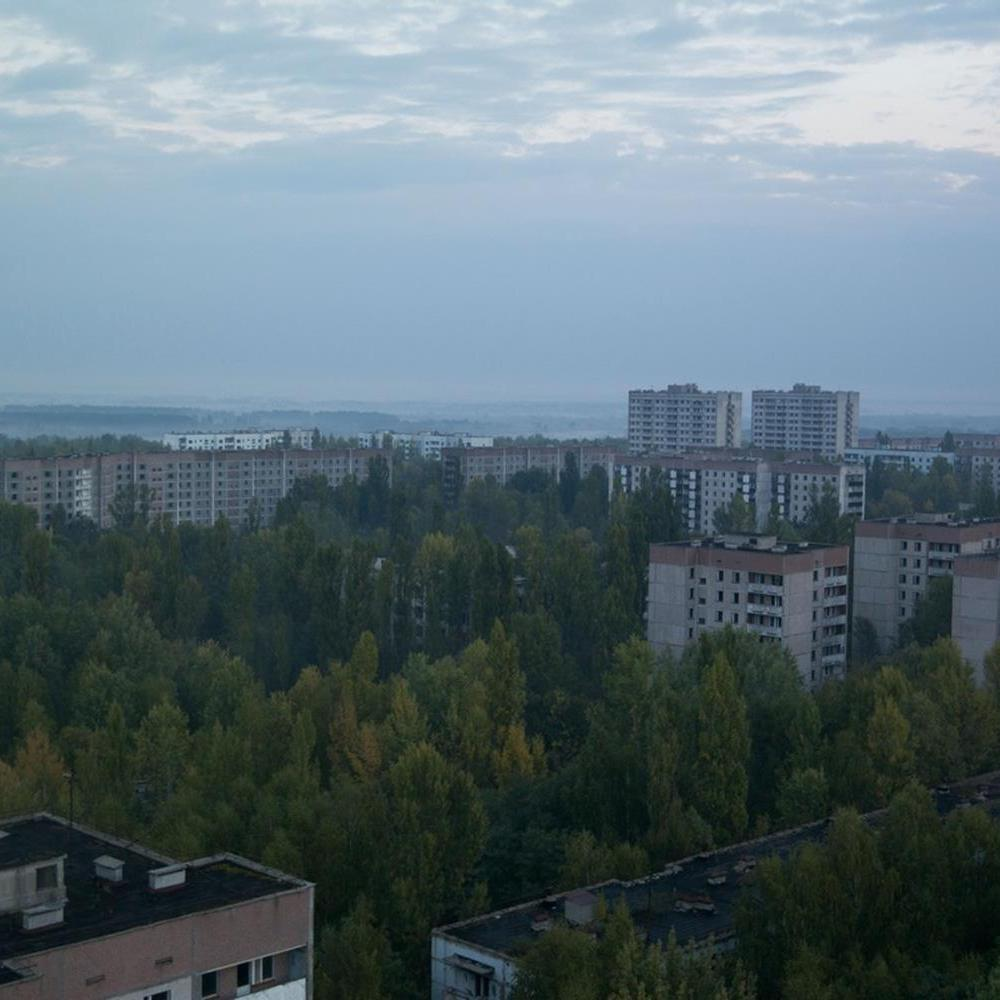 Guy spent three days in Chernobyl, sleeping in a derelict apartment