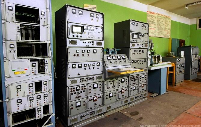 Operator's room: