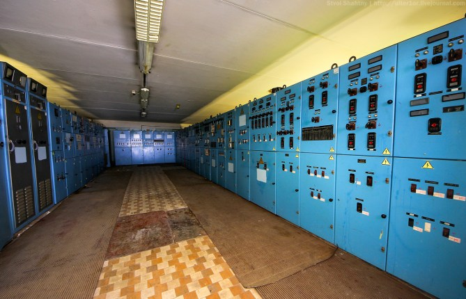 large switch room