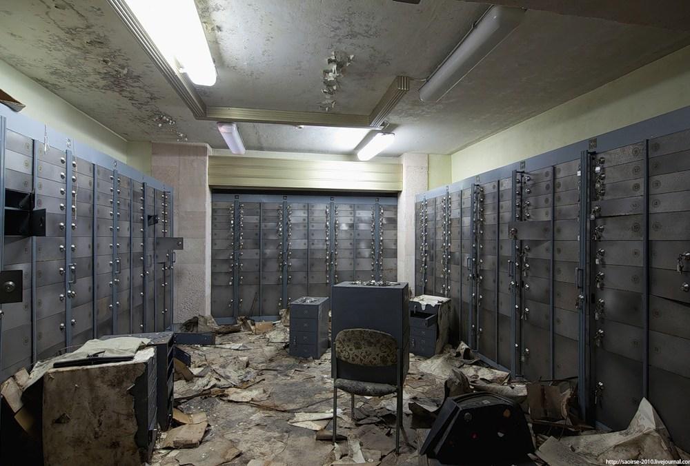 Abandoned Bank Vault