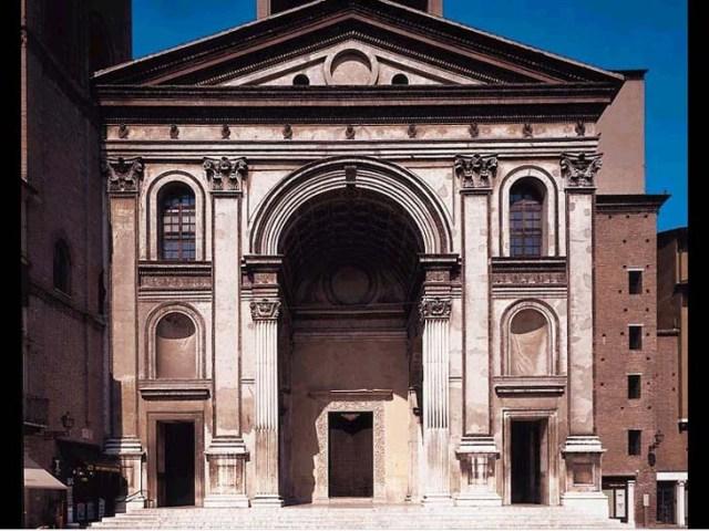Basílica de San Andrés, en Mantua