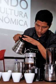 Luis Barrera, de Flor de Café.