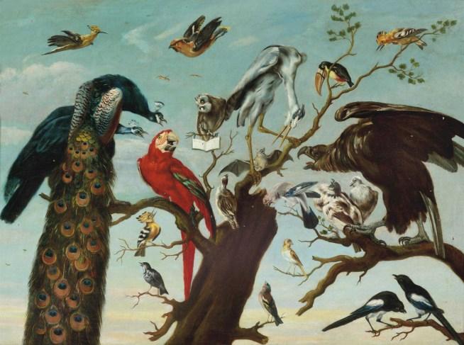 1630 A la maniere de Frans Snyders - Concert of birds