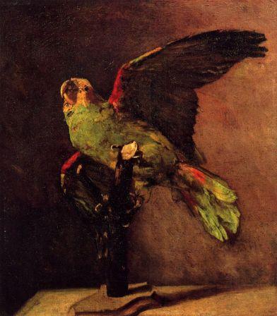 Van Gogh - Le perroquet vert