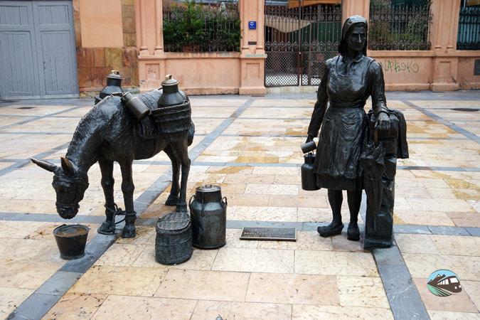 Escultura de La lechera