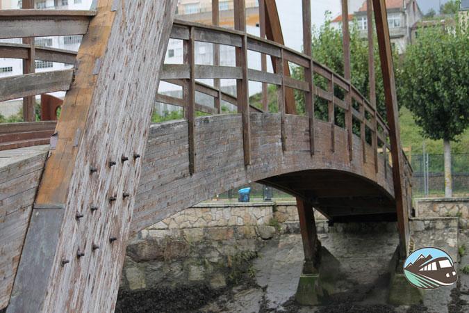 Puente de madera de Betanzos