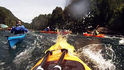 Aventuras de Kayak