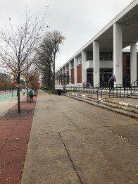 And Brower Commons, the College Ave dining hall, beside it!