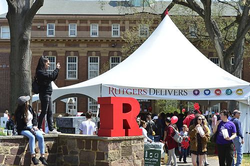 Rutgers Day on the College Avenue Campus
