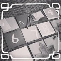 #MiercolesMudo nuestro calendario ADVIENTO/MONTESSORI