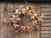 Huge Autumnal colourful wreath