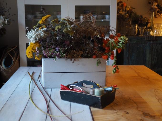 Dried Flower workshop