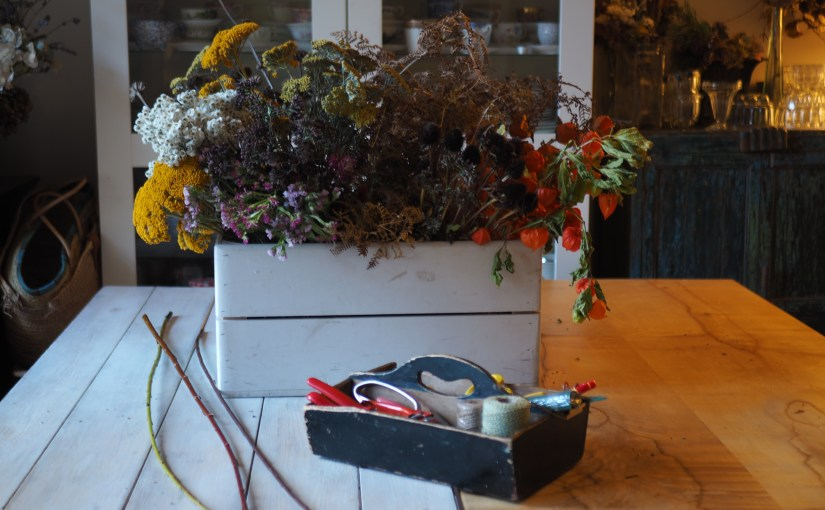 Dried Flower workshop