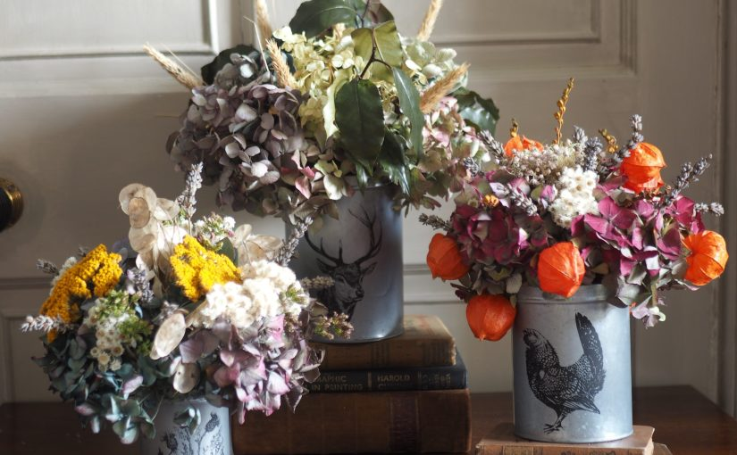 New collection of Dried Flower Arrangements