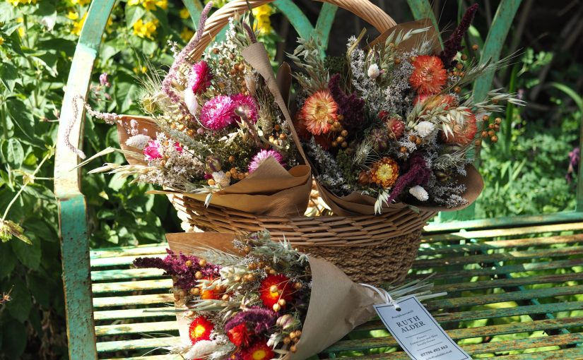 Cut and Dried, the new love for dried flowers