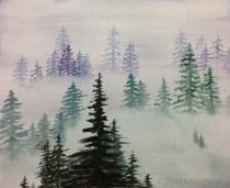 Gumdrop, watercolor, by Cheri W.