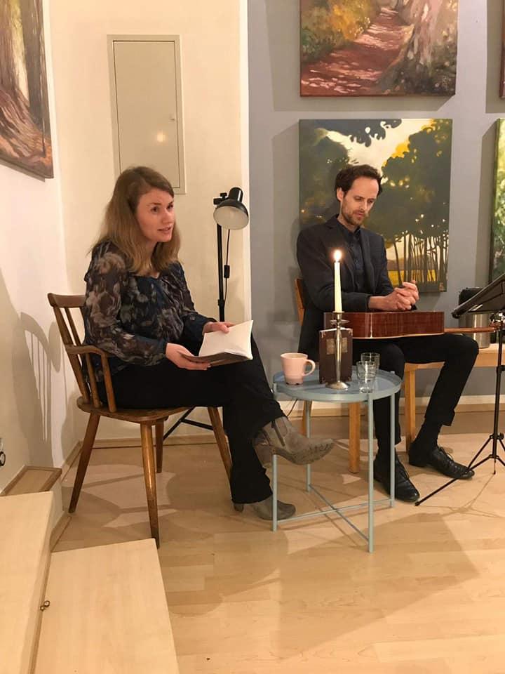 """Zu dem Text """"Für Elise"""" vertonte Erwan für diesen einen Abend das Musikstück."""