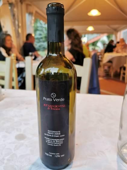Prato Verde - hauseigener Weßwein