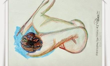 Study of a Egon Schiele drawing  # 2