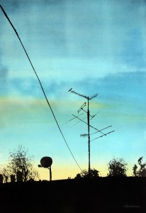 Sommersilhuett – R.T.Brokstad