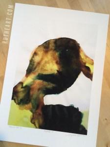 Mindscape #9 – by R.T.Brokstad – Watercolour DGA