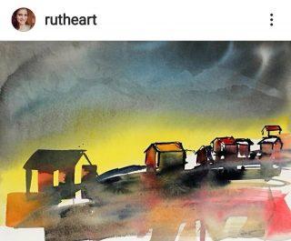 """""""Northen Joy"""" er ett nydelig bilde skapt av rutheart.  Hun skaper stemningsfulle bilder, blant annet med motiv og farger fra nord i landet.   #rutheart_home"""