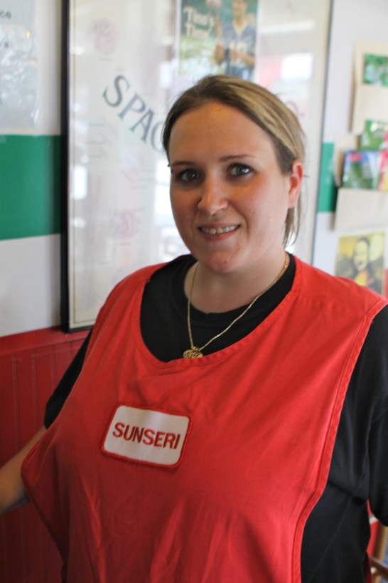 Ashley Sunseri Cashier