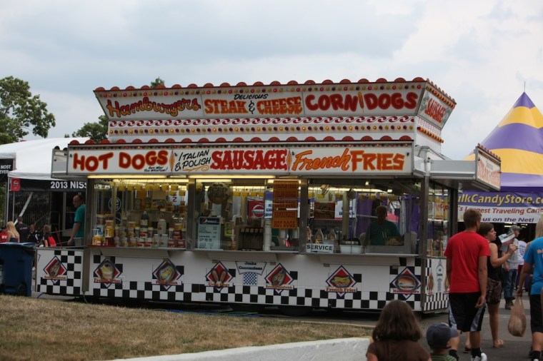 State Fair Food Booth