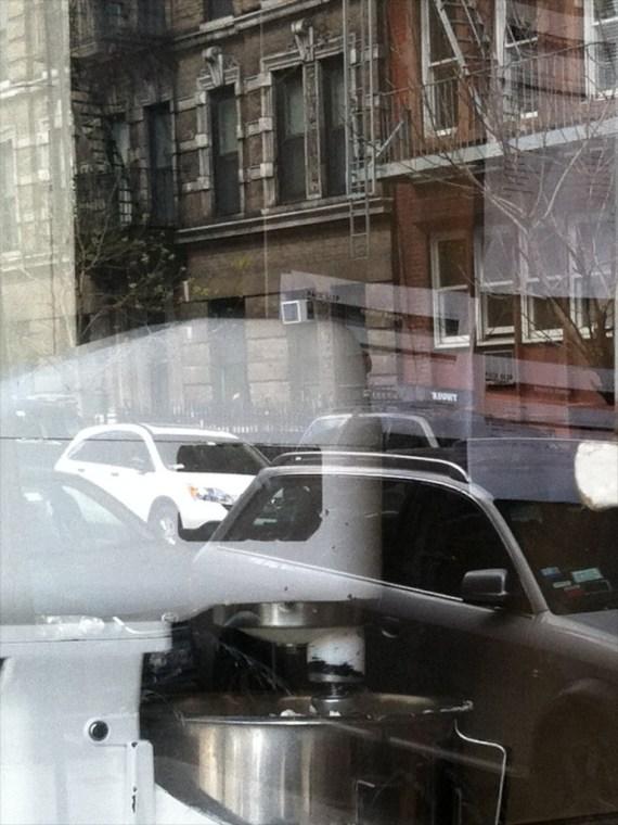 Magnolia Bakery Window on Bleecker St