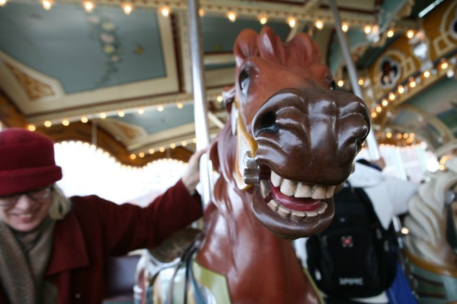 Mary's Horse on Carousel
