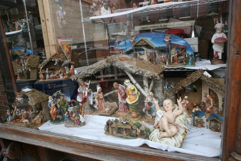 Nativity and Pizza Guy