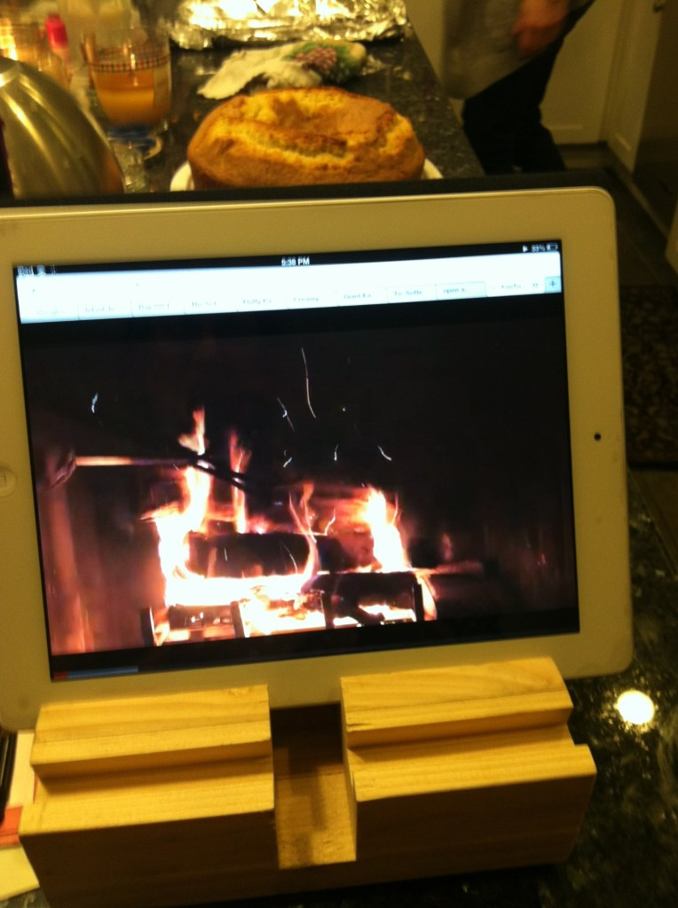 iPad Fireplace