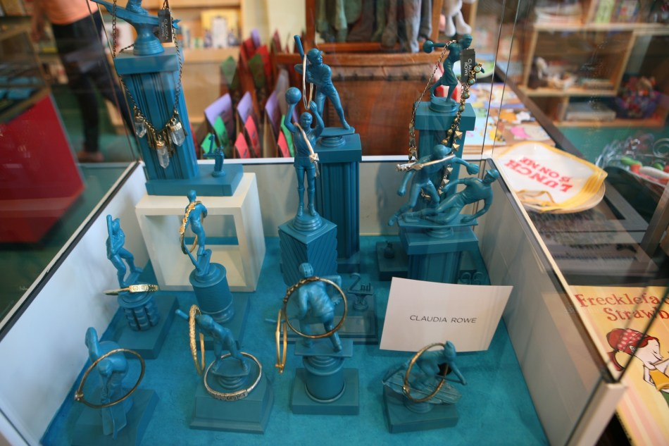 Turquoise Trophy Case