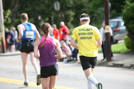 Chicago Runs for Boston