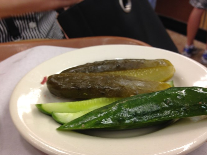 Two kinds of pickles