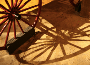 Wagon Wheel at COSI Columus