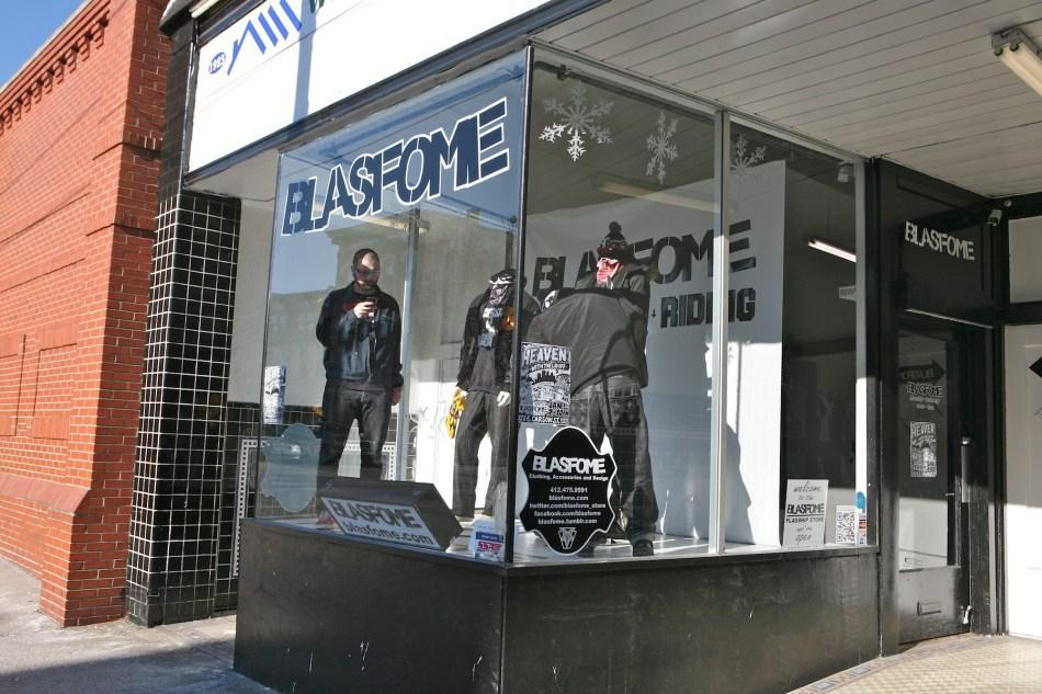 BLasfome window