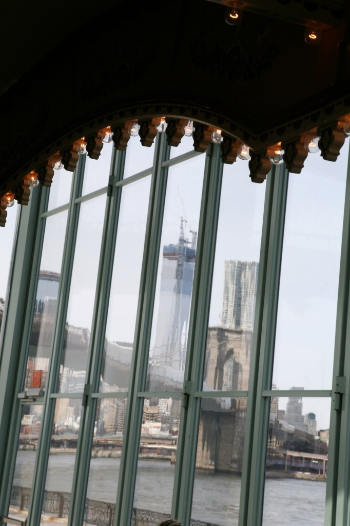 Brooklyn Bridge from Jane's Carousel