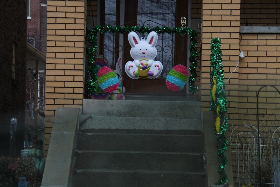 door decoration off 40th street