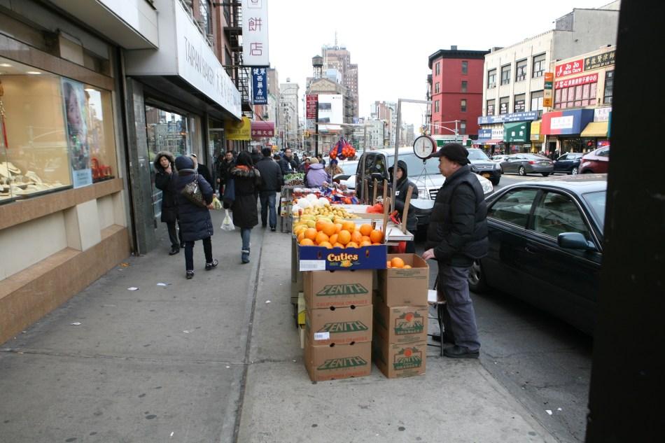 Fruit Seller NYC