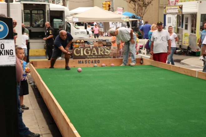 Bocce in Bloomfield 4