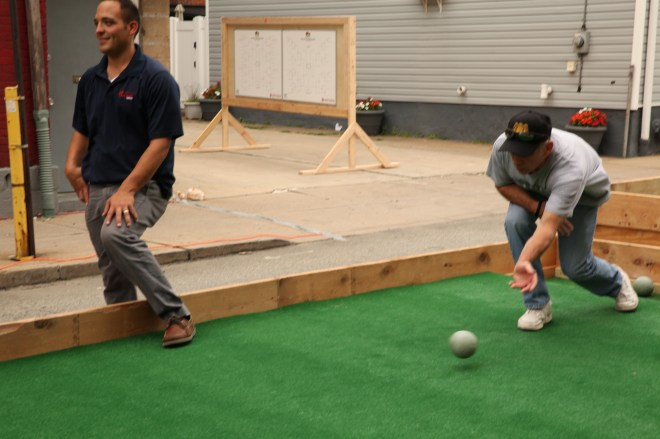 Bocce in Bloomfield 6