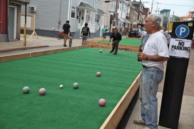 Bocce in Bloomfield