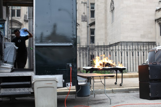catering on Centre Ave