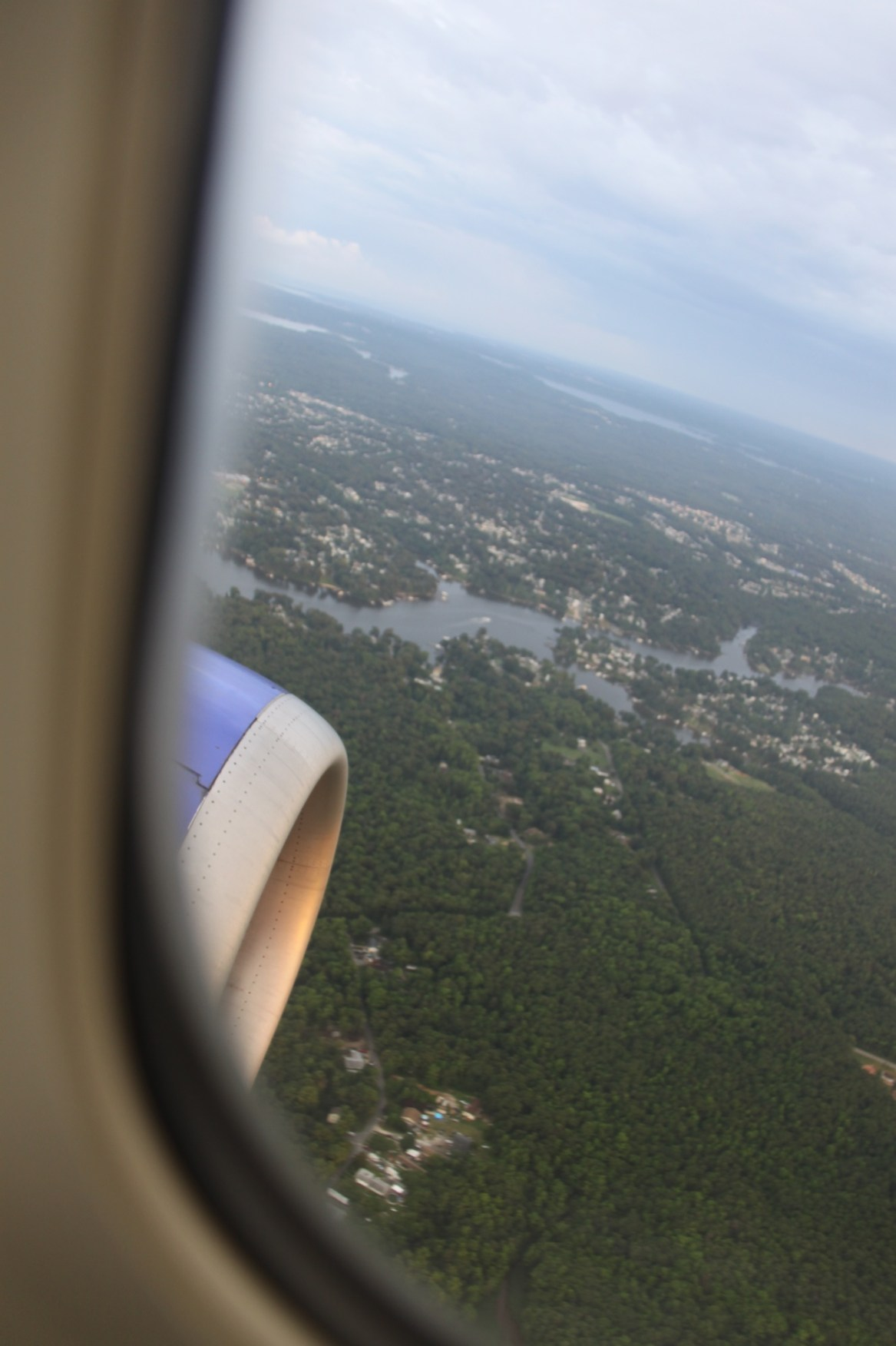 descent airplane